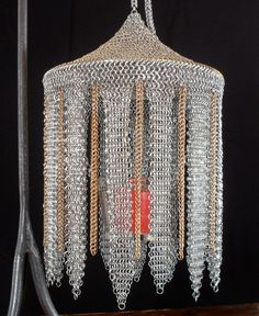 Moroccan Style Lantern in Stainless and Bronze. $249.00, via Etsy.