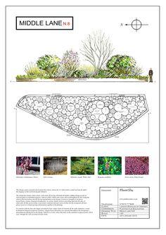 Landscape Architecture Drawing, Landscape Sketch, Landscape Design Plans, Planting Plan, Japanese Garden Design, Garden Types, Contemporary Garden, Garden Features, Garden Structures