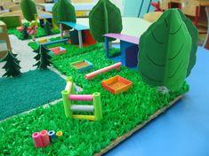 Макет участка в детском саду Kids Rugs, Outdoor Decor, Home Decor, Decoration Home, Kid Friendly Rugs, Room Decor, Home Interior Design, Home Decoration, Nursery Rugs