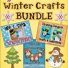 This pack contains 3 Winter Craftivities: Skating Penguin, Hide & Sneak Snowman, and Winter Bear