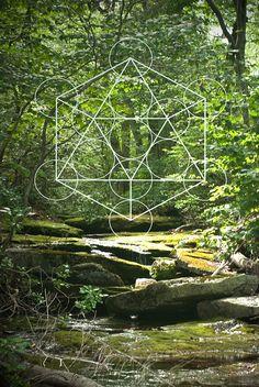 Heilige Geometrie & Natur - 8 x 12 Digital Print - Fotografie-Digitale Kunst…