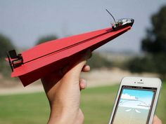 With PowerUp 3.0 all you need to become a pilot is a paper plane and your smart phone.