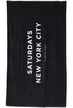 saturdays beach towel