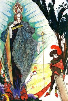 The Snow Queen  By Harry Clarke