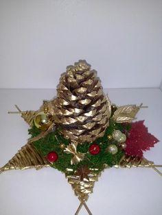 Zlatá šiška, Vianočné dekorácie | Artmama.sk