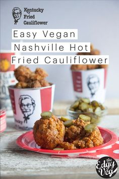 """The burning question of my entire life is """"Will it Vegan?"""" This week I applied this to the well known and often sought after KFC Nashville Hot Chicken. This recipe..."""