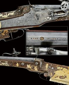 A rare wheel-lock rifle from the property of the Royal Austrian Family Prague, third quarter of the 17th Century