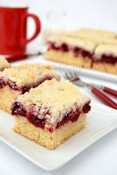 Cherry Pie bars #recipe #dessert