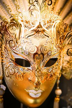 gold mask  IMG_6049 by Mika Ha, via Flickr