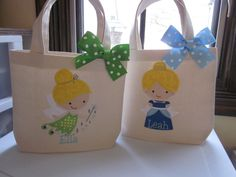 TOTE BAG Disney Princess Personalized Toddler Tote or Big Girl Purse on Etsy, $18.00