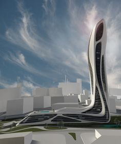 ♂ Futuristic architecture Proposal for the Lexus Tower in Japan