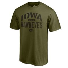 BOYS IOWA HAWKEYES T-SHIRT New With Tags Size Large