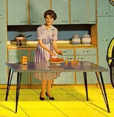 A typical 50's housewife