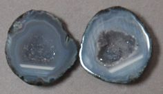 Tabasco Geode 1 Pair Cut and Polished Great for Jewelry 43860 #Unbranded