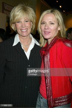 News Photo : Joan Lunden, Kim Cattrall during Beverly Feldman...