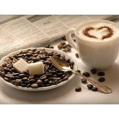 Cup Of Coffee ❤ liked on Polyvore featuring backgrounds, food, coffee, pictures and food & drink