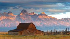 'Cordilheira Teton'.  É parte das Montanhas Rochosas. #Wyoming.