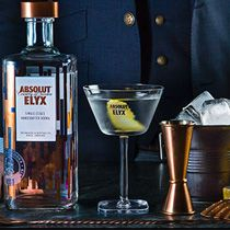 Shake things up with Absolut Elyx single estate handcrafted vodka