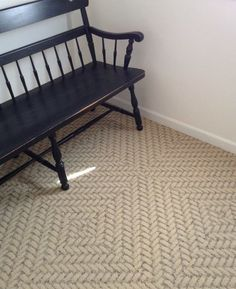 Roadside Attraction-Tan carpet tile by FLOR entryway sisal