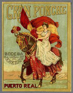 009-Etiquetas de bebidas. Figuras y retratos de mujeres-1890-1920- Biblioteca Digital Hispánica