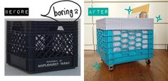 After I did a lot of cleaning up my apartment,and then I found one old plastic crate sitting beneath my kitchen sink. It was pretty dusty and filled up with some kind of junk. First I...