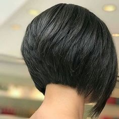 Short bob hairstyles 823877325569818328 - Layered Inverted Bob – Cute Inverted Bob Haircuts: Sexy Short & Long Inverted Bob Hairstyles Source by toptrendsguide Short Stacked Bob Haircuts, Short Bob Cuts, Inverted Bob Hairstyles, Medium Bob Hairstyles, Short Hair Cuts, Haircut Short, Layered Inverted Bob, Simple Hairstyles, Short Stacked Bobs