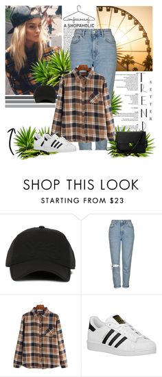 """""""Без названия #252"""" by blacksky000 ❤ liked on Polyvore featuring Y-3, Topshop, adidas Originals and Aspinal of London"""