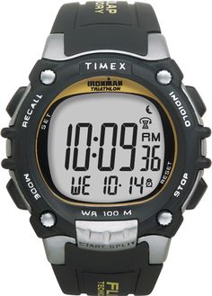 Timex Men's Ironman 100 Lap Watch With Flix $45.46 #coupay #time #mens