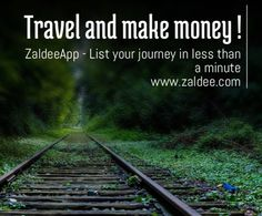 Travel and make money!  Use FREE #ZaldeeApp (www.zaldee.com) and earn while you travel It takes less than minute to list your journey and earn. Try it for free. It's quick & easy ❤️ Download ZALDEE app. It's FREE on App Store and Play store.  Zaldee® connects travelers and senders.   #ZALDEE #EarnWhileYouTravel #ZaldeeApp #ShipOnDemand #package #luggage #baggage #journey #courier #ExcessBaggage #shipping #travel #traveling #AirbnbOfShipping  #vacation #backpacking #CheapTravel…