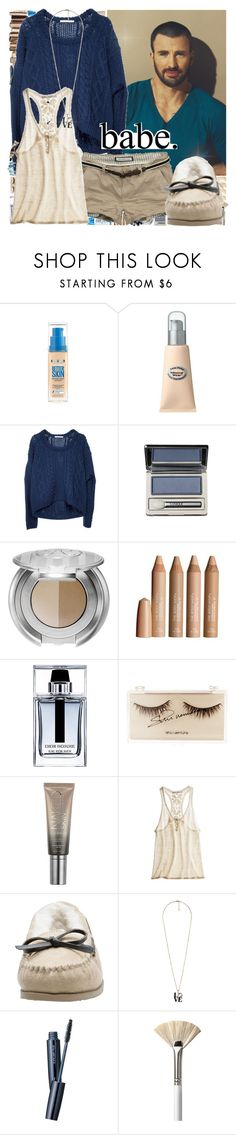 """babe."" by sammylynn ❤ liked on Polyvore featuring Clinique, Anastasia, The Body Shop, Abercrombie & Fitch, shu uemura, Urban Decay, Ulla Johnson, Forever 21, LIST and Aesop"