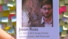 An advocate for folks with Asperger's (on the autism spectrum). He was featured in the PBS series The Emotional Life.
