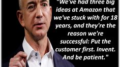 Jeff Bezos Quotes - YouTube Rich People, Entrepreneur Quotes, Sales And Marketing, Entrepreneurship, Don't Forget, Addiction, Self, Success, Social Media
