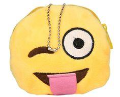 Emoji Plush Coin Purse - Naughty  http://emojicushions.mysimplestore.com/products/emoji-plush-coin-purse-naughty