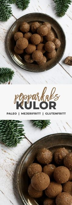 Recept: Nyttiga pepparkakskulor. Glutenfria / Mjölkfria / vegan /raw Healthy Candy, Healthy Sweets, Healthy Food, Sweets Recipes, Raw Food Recipes, Healthy Recipes, Food Hacks, Food Inspiration, Food Porn