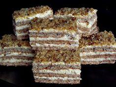 CAIETUL CU RETETE: Prajitura Krantz Romanian Desserts, Russian Desserts, Romanian Food, Romanian Recipes, Sweets Recipes, Cake Recipes, Cooking Recipes, Cooking Tips, Krantz Cake