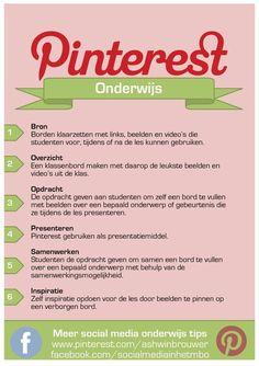 Pinterest gebruiken bij je lesgeven.