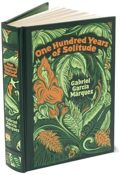One Hundred Years of Solitude by Gabriel Garcia Marquez (Barnes & Noble Leatherbound Classics) Gabriel Garcia Marquez, Hundred Years Of Solitude, One Hundred Years, I Love Books, Good Books, My Books, Beautiful Book Covers, Adventures In Wonderland, Thing 1