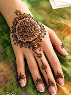 Eid Festival Mehndi Designs 2015-2016 For Women - B & G Fashion