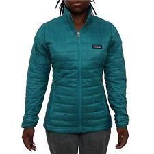 Patagonia Women Women's Nano Puff Jacket Puffer Tobago Blue