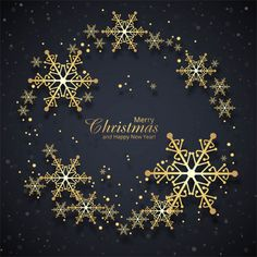 Beautiful Merry Christmas Card With Snowflake Background Merry Christmas Poster, Merry Christmas Wallpaper, Classy Christmas, Merry Christmas And Happy New Year, Christmas Holidays, Christmas Cards, Christmas Decorations, Snowflake Background, Christmas Background