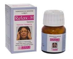 Relax-H tablets are a remedy for disturbing,distressing and sporadic headaches caused my exposure to sun, migraine, mental stress, indigestion and nausea. COMPOSITION: Each tablet contains- Iris Versicolor Cedron Ignatia Amara Spigelia Anthelm Headache Causes, Migraine, Crazy Feeling, How To Relieve Headaches, Homeopathic Remedies, Head And Neck, Iris, Medicine