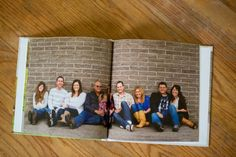 Family Photo Session Photo Book--create a photo book from your professional family photo session to be able to look back on for years to come.  When you change out the frames around the house you will still have a book to look through!