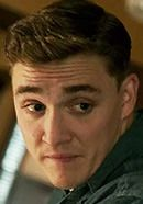 Kyle Gallner as Andrew Fitzgerald in The Finest Hours movie. Read 'The Finest Hours: History vs. Hollywood' at: http://www.historyvshollywood.com/reelfaces/finest-hours/