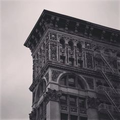 Architecture, downtown New York