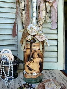 bottl 1botella, galleries, fifi alter, craft, artesanato reciclagem, jar, altered bottles, compartilhamento de, alter bottl
