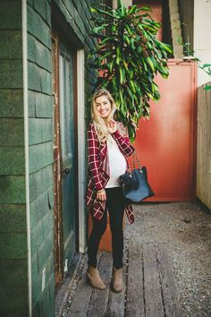 25 Casual And Simple Maternity Styles