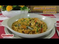 ARROZ DE MARISCO à Portuguesa, delicioso - YouTube