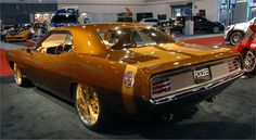 ☆ 70' Plymouth Barracuda by Foose