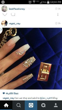 These nails though