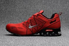 hot sales 70ad1 750ee Ventilation Nike Air Ultra Max 2018. 5 Shox Bright Red Black Sneakers Men s  Running Shoes Sneakers